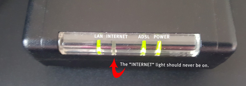 What do the lights on my modem mean? - ATC Communications